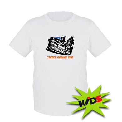Купити Дитяча футболка Street Racing Car