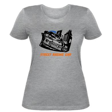 Купити Жіноча футболка Street Racing Car