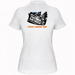 Купити Жіноча футболка поло Street Racing Car