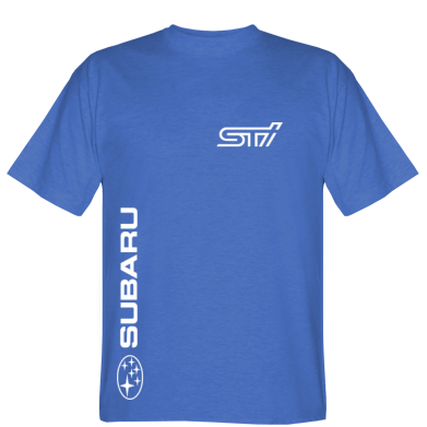 Футболка Subaru STI Logo