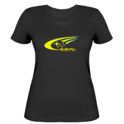 Купити Жіноча футболка Subaru WRT