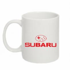 Купити Кружка 320ml Subaru