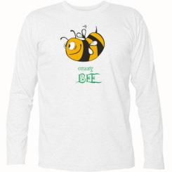 Купити Футболка з довгим рукавом Шалена бджілка