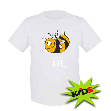 Купити Дитяча футболка Шалена бджілка