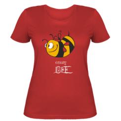 Купити Жіноча футболка Шалена бджілка