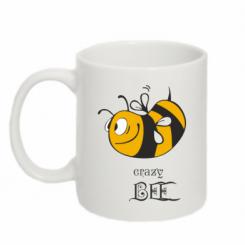 Купити Кружка 320ml Шалена бджілка