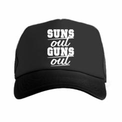 Кепка-тракер Suns out guns out