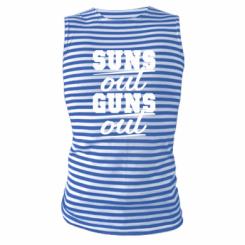 Майка-тільняшка Suns out guns out