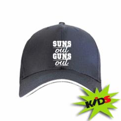 Дитяча кепка Suns out guns out