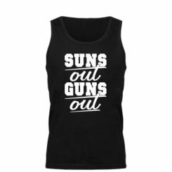 Майка чоловіча Suns out guns out