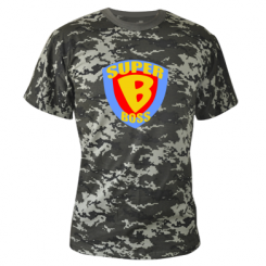Камуфляжна футболка Super Boss