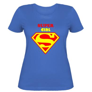Жіноча футболка Super Girl