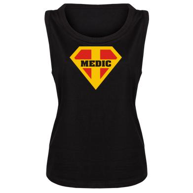Женская майка Super Medic