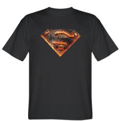 Футболка Superman and Fire