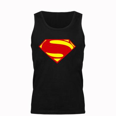 Мужская майка Superman Человек из стали