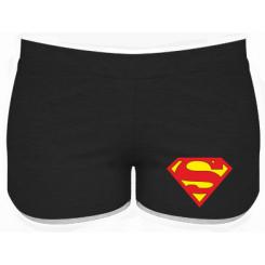 Женские шорты Superman трехцветный