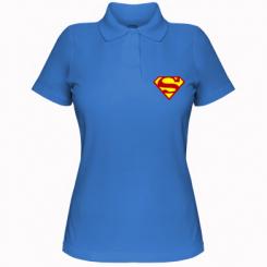 Купити Жіноча футболка поло Superman