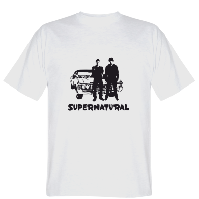 Футболка Supernatural Брати Вінчестери