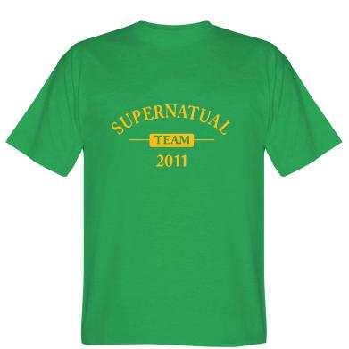Футболка Supernatural Team