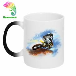 Кружка-хамелеон Suzuki Art