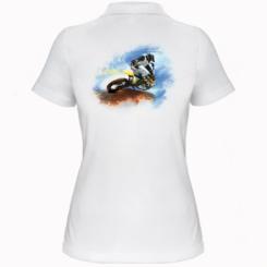 Жіноча футболка поло Suzuki Art
