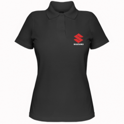 Купити Жіноча футболка поло Suzuki