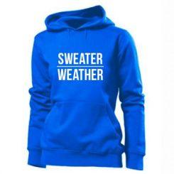 Толстовка жіноча Sweater | Weather