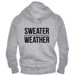 Чоловіча толстовка на блискавці Sweater | Weather