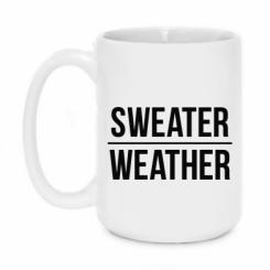 Кружка 420ml Sweater   Weather