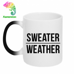 Кружка-хамелеон Sweater | Weather