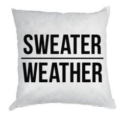 Подушка Sweater | Weather