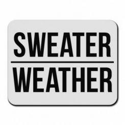 Килимок для миші Sweater | Weather