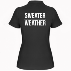 Жіноча футболка поло Sweater | Weather