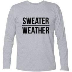 Футболка з довгим рукавом Sweater | Weather