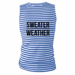Майка-тільняшка Sweater | Weather