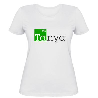 Жіноча футболка Tanya