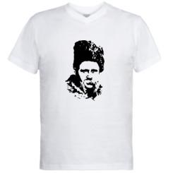 Купити Чоловічі футболки з V-подібним вирізом Тарас Григорович Шевченко