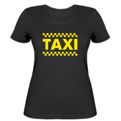 Купити Жіноча футболка TAXI