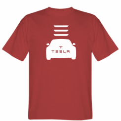 Футболка Tesla Car