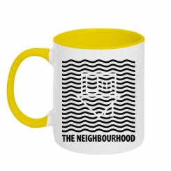Кружка двокольорова The Neighbourhood Waves