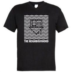 Чоловіча футболка з V-подібним вирізом The Neighbourhood Waves