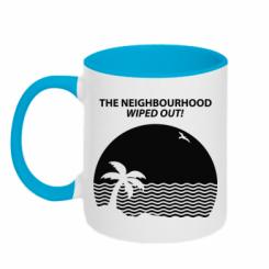 Кружка двокольорова The Neighbourhood Wiped Out!