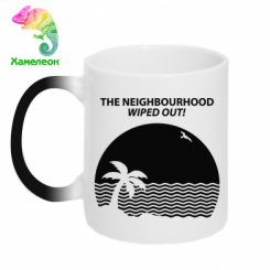 Кружка-хамелеон The Neighbourhood Wiped Out!