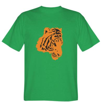 Футболка тигр профіль