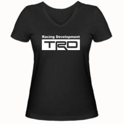 Купити Жіноча футболка з V-подібним вирізом TRD