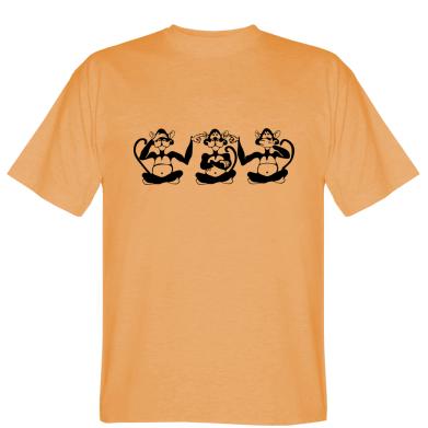 Футболка Три мавпи
