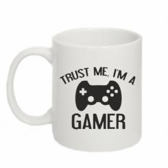 Кружка 320ml Trust me, i am a gamer