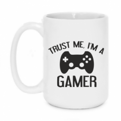Кружка 420ml Trust me, i am a gamer