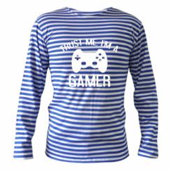 Тільник з довгим рукавом Trust me, i am a gamer