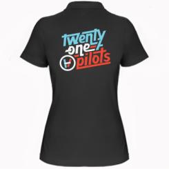 Жіноча футболка поло TWENTY ØNE PILØTS